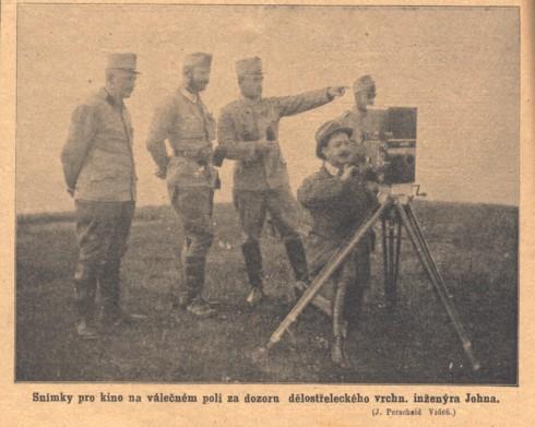 1914 Snimek z valky