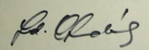 Chudik podpis