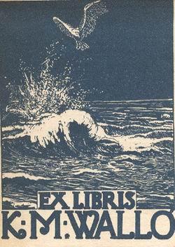 EXLIBRIS-k m wALLO