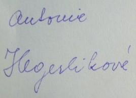 Hegerlikova podpis