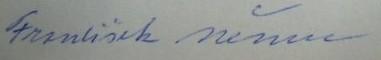 Nemec podpis