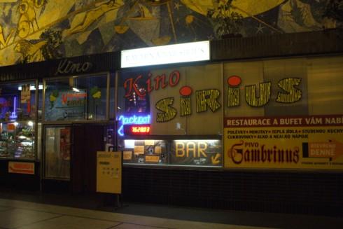 Pardubice kino Sirius
