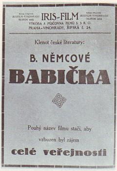 Plakat Babicka 1921