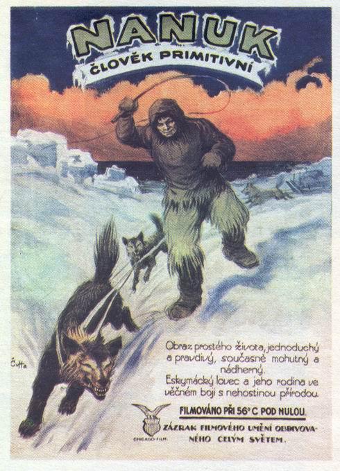 Plakat-Nanuk primitiv