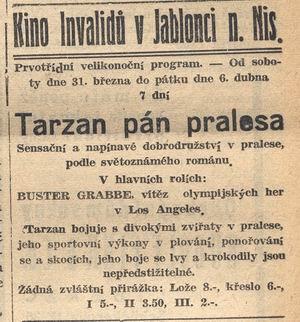 REKLAMA -tarzan