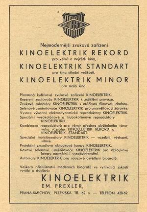 REKLAMA-KINOELEKTRIK
