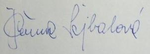 Sejbalova podpis