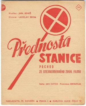film-pisen Prednosta stanice