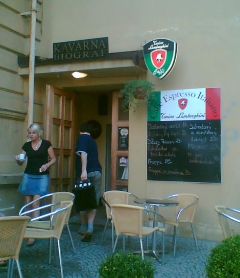 kino Svet Dvur Kr. n. L kavarna