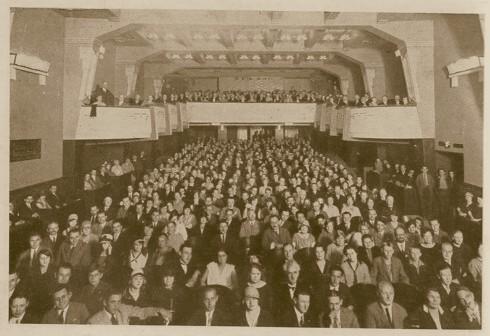 kino roxy hlediste 1928