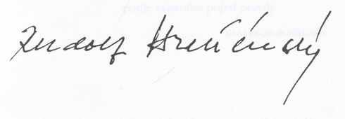 podpis Hrusinsky