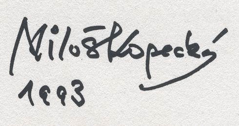 podpis Kopecky