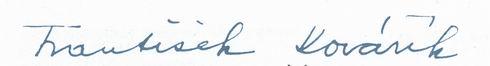podpis Kovarik