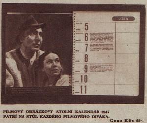 reklama Kino 1946